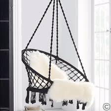 discount madrid macrame hanging chair free shipping