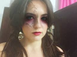 Pretty Makeup For Halloween by Evil Doll Pretty And Simple Halloween Makeup Beautybymarianela