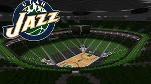 minecraft sports stadium minecraft megabuild basketball arena vivintsmarthome