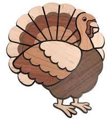thanksgiving turkey decoration laser cut turkey inlay decoration