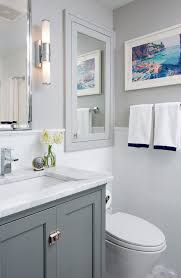 cabinet over toilet with mirror bathroom transitional with white