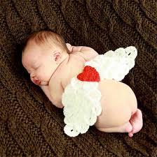baby props angel wings newborn boy photo props crochet baby cover
