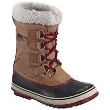 sorel womens boots uk sorel womens winter carnival boots 9 uk elk dahlia amazon