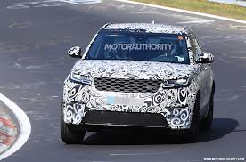 land rover velar 2019 land rover range rover velar svr spy shots and video