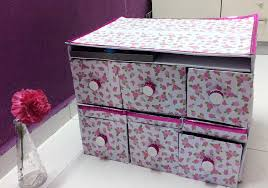 home decor made from recycled materials diy storage organizer using shoebox other recycle