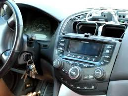 radio honda accord 2007 how to remove stereo cd player from honda accord 2003 2004