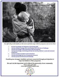 fundraising cape cod children u0027s place inc