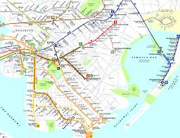 Map Of Manhattan New York City by New York City Maps