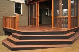 Corner Deck Stairs Design Stair Ideas For Porches Hgtv