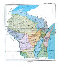 Map Of Northern Wisconsin by