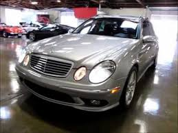2006 mercedes e55 amg for sale 2006 mercedes e55 amg wagon for sale