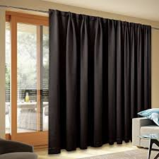 Patio Door Thermal Blackout Curtain Panel Blackout Patio Door Curtain Panel Back Tab Thermal