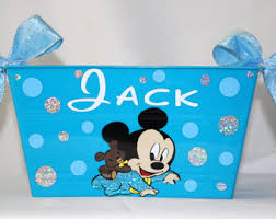 mickey mouse easter baskets mickey mouse etsy