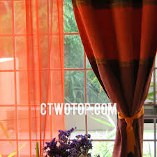 Orange And Brown Curtains Solid High End Suede Bedroom Brown Blackout Curtains