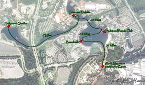 Map Of Hollywood Studios Disney World Boat Transportation System Exploringwdw