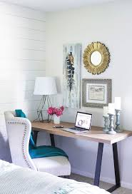Desk Ideas For Small Spaces 4 Home Office Updates Peep These Bloggers U0027 Tips Office Spaces