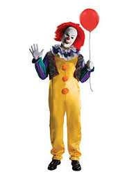 killer clown costume birthdayexpress it pennywise killer clown