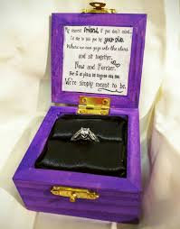 say yes to these custom disney engagement ring boxes tim
