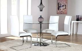 All Glass Dining Room Table Glass Dining Room Table And Chairs Circular Glass Dining Table And