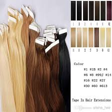 what is the best tap in hair extensions brand names mix 10inch to 26inch tape in skin human hair extensions 2 5g pc