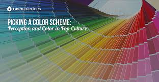 choosing a color scheme picking a color scheme perception and color in pop culture