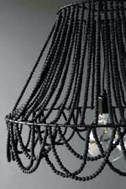 Beaded Chandelier Diy Beaded Chandelier Pendant Light U2013 Eimat Co
