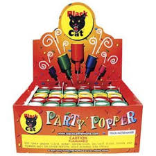 party poppers black cat party poppers springfield fireworks