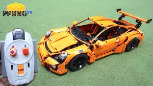 porsche instructions technic 42056 rc motorized porsche 911 gt3 rs power functions