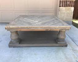 Restoration Hardware Coffee Table Restoration Hardware Etsy