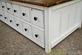 White Distressed Wood Coffee Table Coffee Stained Antique White Ana White Woodworking Projects