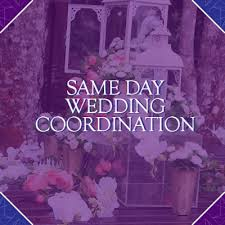 day of wedding coordinator tcj management co why should i a same day wedding coordinator