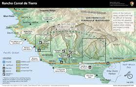 Presidio San Francisco Map by Rancho Corral De Tierra Golden Gate National Recreation Area