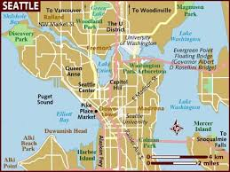 seattle map map of seattle