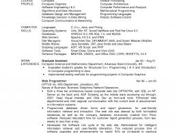 Resume Sample For Computer Programmer Incredible Design Sample Computer Science Resume 3 Computer