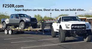 Ford Raptor Super Truck - f250r raptorizes the super duty