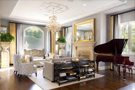 black and white and gold living room interior design