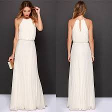 white maxi dress white draped cut out high waisted sleeveless party maxi