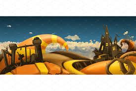 halloween background art halloween background 3d vector illustrations creative market