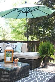 our outdoor living room u0026 diy deck makeover reveal making lemonade