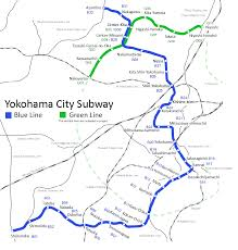 Osaka Subway Map by Yokohama Municipal Subway Wikipedia