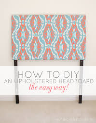 Diy Pillow Headboard Diy Upholstered Twin Headboards The Easy Way