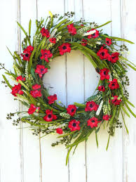 look wonderfully festive a front door wreaths for sale poinsettia