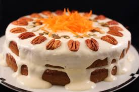 Carrot Decoration For Cake A Healthier Carrot Applesauce Spice Cake With A Tofu Cream Cheese