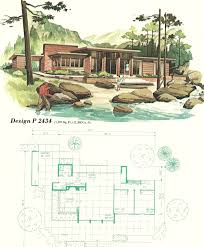vacation home floor plans vintage house plans vacation homes 1960s i want to live here