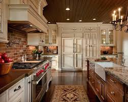 kitchen with brick backsplash stunning brick backsplash kitchen brick kitchen mydts520