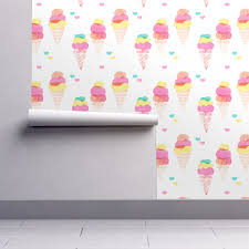 water color ice cream cone popsicle colorful summer candy food