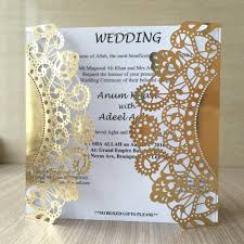 compare prices on wedding invitation silver online shopping buy