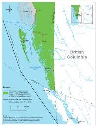 British Columbia Canada Map by Crude Oil Tanker Moratorium On British Columbia U0027s North Coast