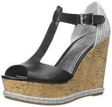 amazon com lauren by ralph lauren women u0027s maeva wedge sandal