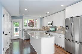 backsplash white kitchen with white subway tile best white